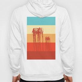 Elephants in Color Hoody