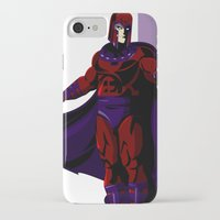 magneto iPhone & iPod Cases featuring Magneto by Andrew Formosa