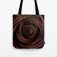 chocolate Tote Bags featuring Chocolate by Giada Rossi