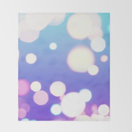 Night Lights Throw Blanket