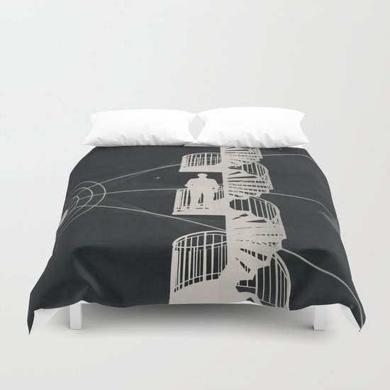 Steps Duvet Cover