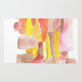171013 Invaded Space 11|abstract shapes art design |abstract shapes art design colour Rug