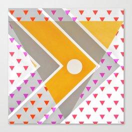 Fish - triangle graphic Canvas Print