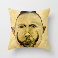 tribal Throw Pillows featuring tribal  by Joe Ganech