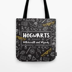 HOGWARTS School of Witchcraft and Wizardy Tote Bag