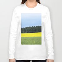 sweden Long Sleeve T-shirts featuring Sweden by Anya Kubilus