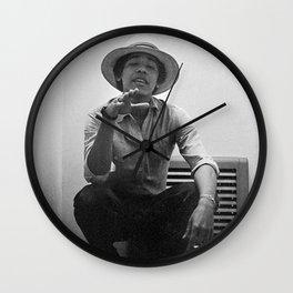 Listen Here You Noob Wall Clock
