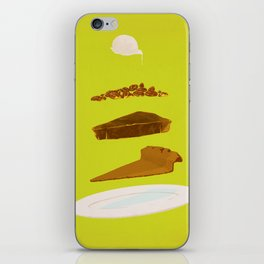 Pecan iPhone Skin