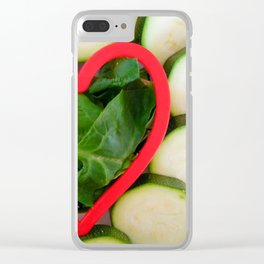 Healthy heart Clear iPhone Case
