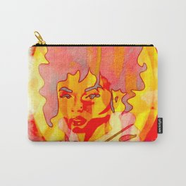 peach Rings candy Portrait of INDIA LOVE Carry-All Pouch