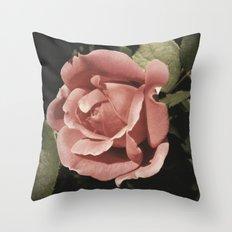 Old Rose Throw Pillow