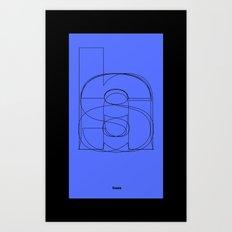 Die Neue Haas Grotesk (C-02) Art Print