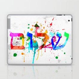 Shalom Hello Goodbye Laptop & iPad Skin