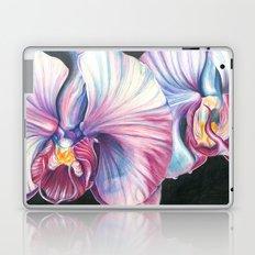 Pink Orchid Study Laptop & iPad Skin
