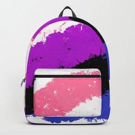 Splatter YOUR Colors - Genderfluid Pride Backpack