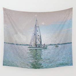 Ship 12-555 Wall Tapestry