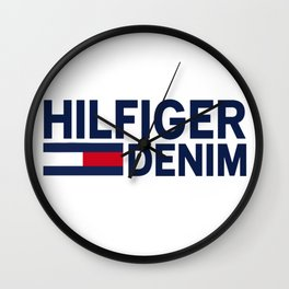 Hilfiger Denim Wall Clock