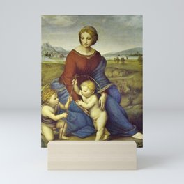 Madonna of the Meadows by Raphael Mini Art Print