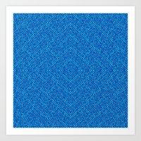 Bardarbunga Mint Art Print