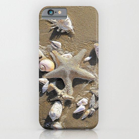 Sun, Sea, Sand, Shells, Star, Summer iPhone & iPod Case