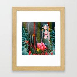 BTATO_Mermaid Framed Art Print
