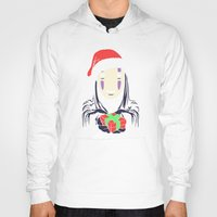 chihiro Hoodies featuring Kaonashi's trap! by Puddingshades