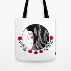 Lady of the roses Tote Bag