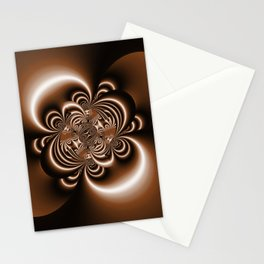3D - abstraction -50a- Stationery Cards