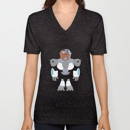 Cyborg Unisex V-Neck