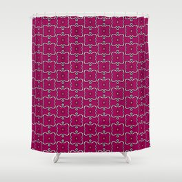 Electric Granny 01 Shower Curtain
