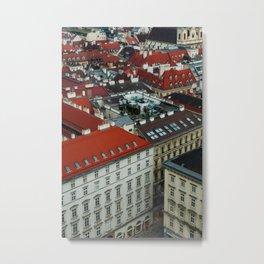 Vienna rooftops II Metal Print