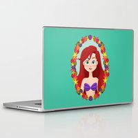 ariel Laptop & iPad Skins featuring Ariel  by Joey Ellson