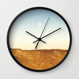 Moonrise Mt. Laguna Wall Clock
