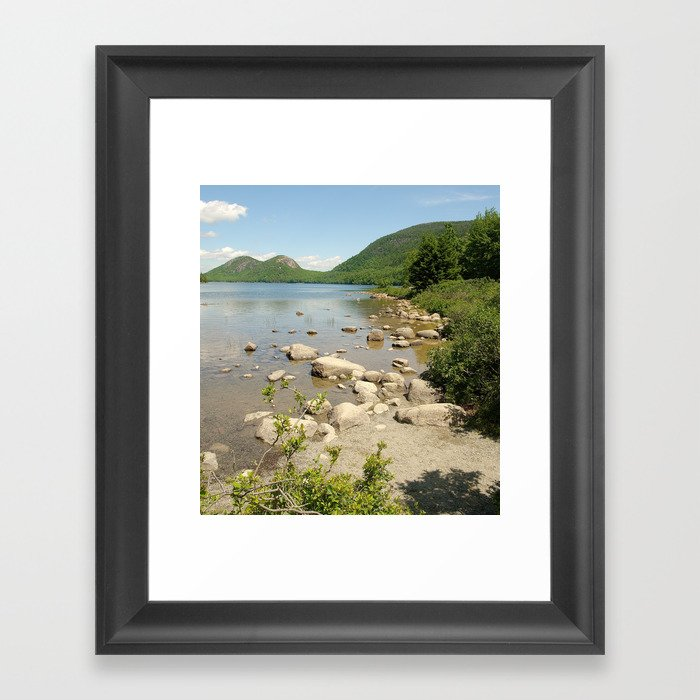 Maine photography Framed Art Print by raymondearley