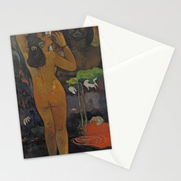 Paul Gauguin - Hina Tefatou / The Moon and the Earth (1893) Stationery Cards