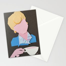 Jessica Fletcher Fanart Stationery Cards