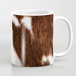 Cowhide Brown Spots Coffee Mug