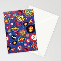 Movie Super Hero logos Stationery Cards