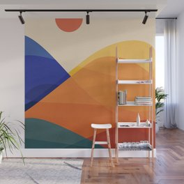 Meditative Mountains Wall Mural