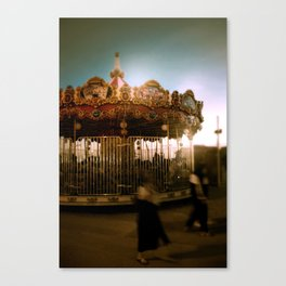 Magic roundabout Canvas Print