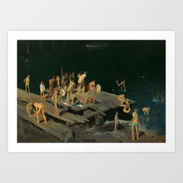 George Bellows - Forty-two Kids, 1907 Art Print