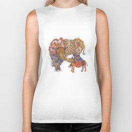 Sumatran Rhino Biker Tank