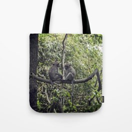 Monkey Love Tote Bag