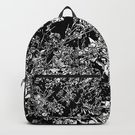 BW Flowers Backpack