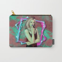 Neon Punk Zombie Carry-All Pouch