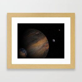 Remembering Endor Framed Art Print