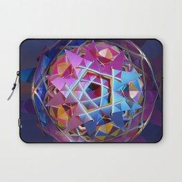 Colorful metallic orb Laptop Sleeve