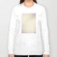 peach Long Sleeve T-shirts featuring Peach by C Designz