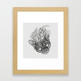spirit of devonrex  Framed Art Print
