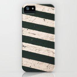 ROAD WORK iPhone Case